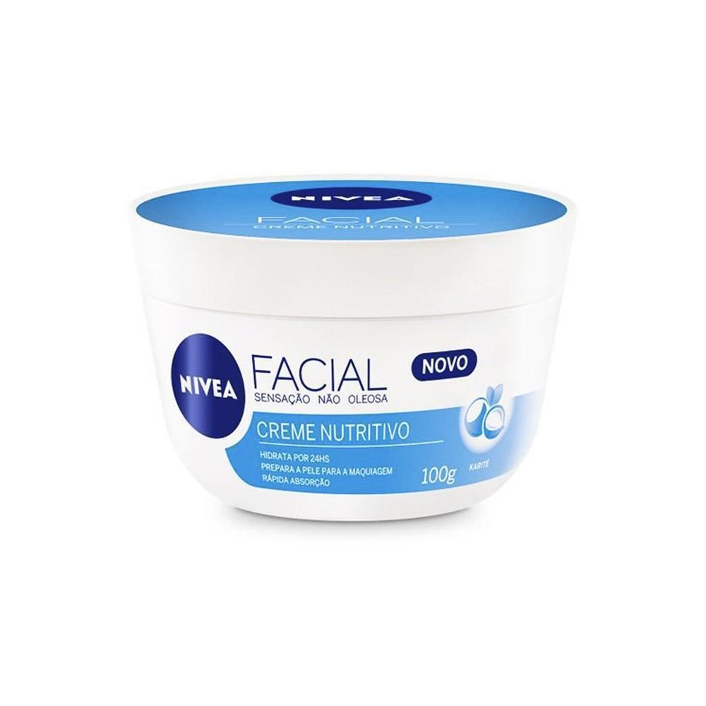 Creme Facial Nutritivo Sensação Não Oleosa 100g Nivea
