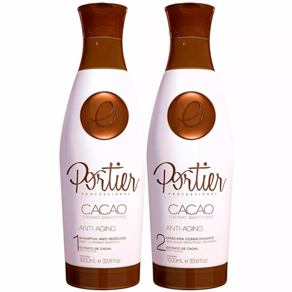 PORTIER CACAO THERMO SMOOTHING - KIT DUO 1000ML