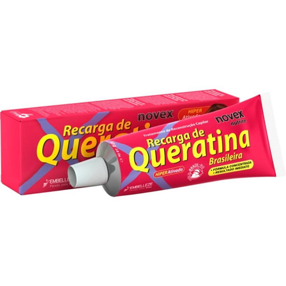 Novex Recarga de Queratina Brasileira 80G
