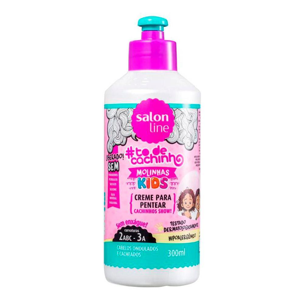Creme Para Pentear Kids Molinhas Salon Line 300ml