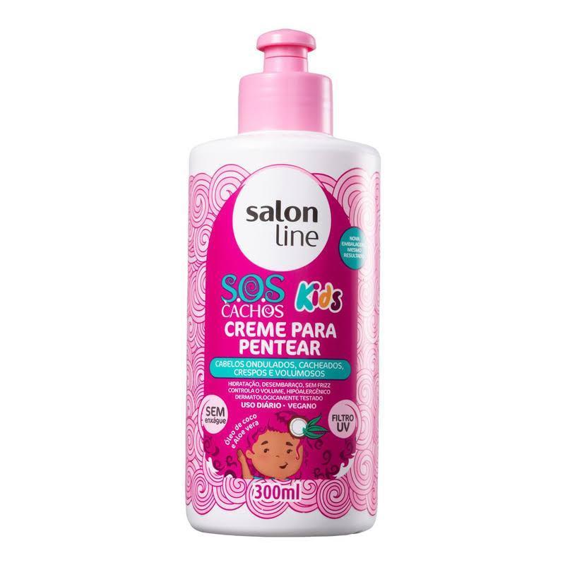 Creme Para Pentear S.O.S Cachos Kids Salon Line 300ml