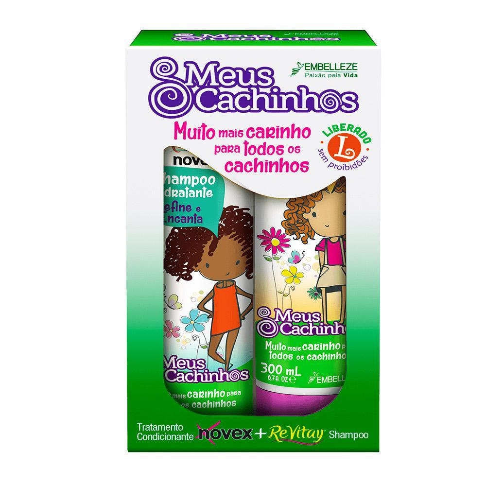 Shampoo e Condicionador Novex Meus Cachinhos KIT