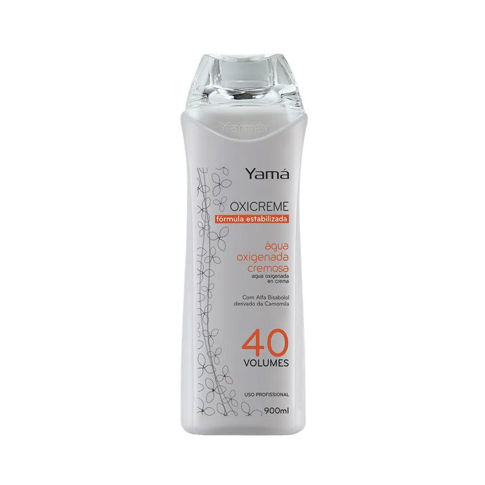 Água Oxigenada cremosa 40 Volumes 900ml - Yamá