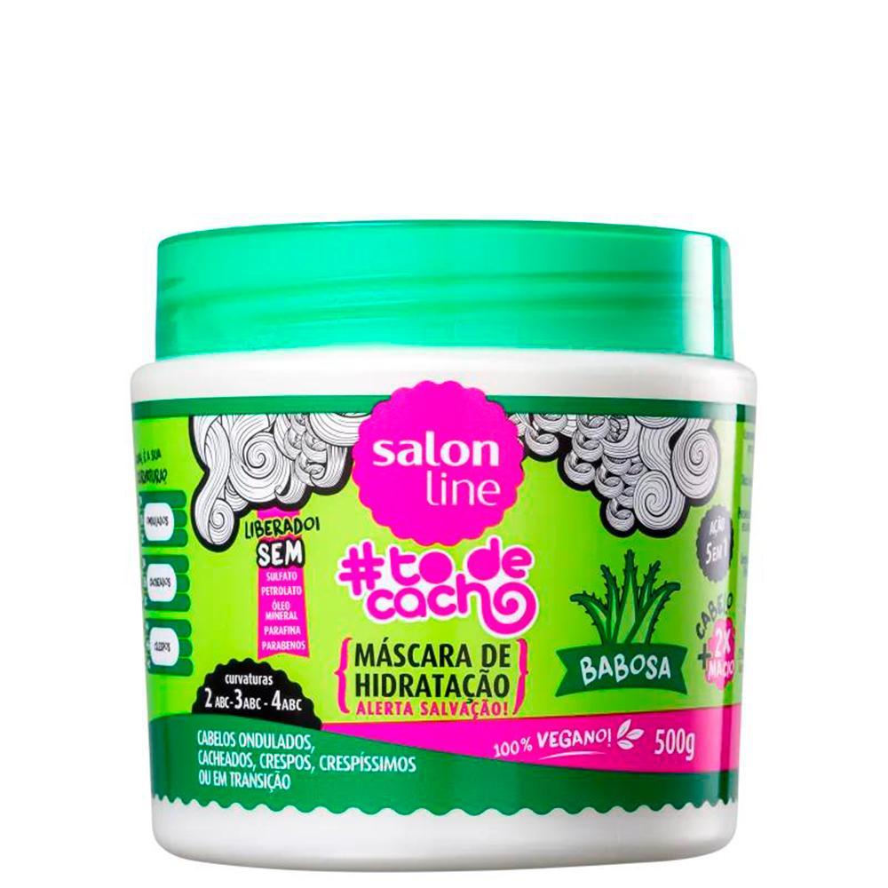 Máscara todecacho Babosa Salon Line 500g