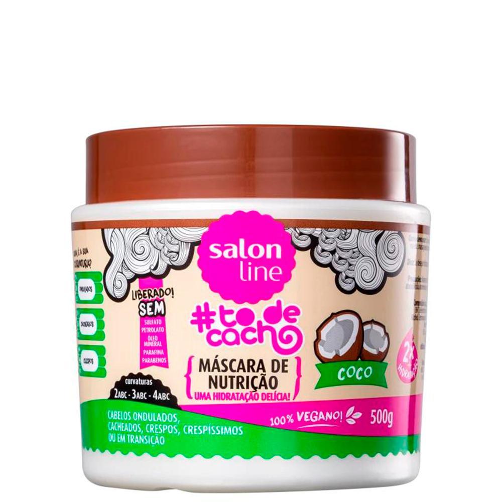 Máscara de Nutrição Coco Salon Line 500g