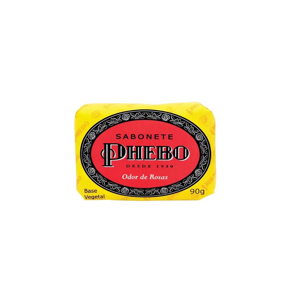 Sabonete Barra Odor de Rosas 90g