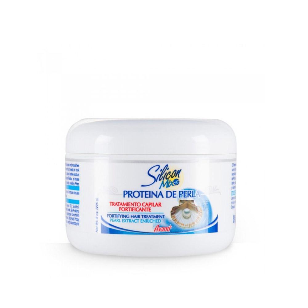 Tratamento Capilar Fortificante Silicon Mix Proteína de Perla - 225g