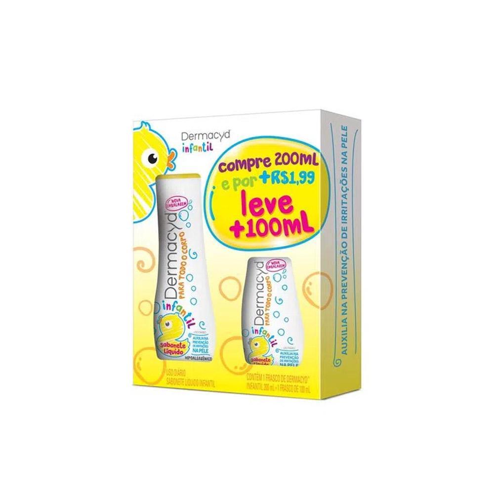 Dermacyd Infantil Compre 200ml Leve 100ml