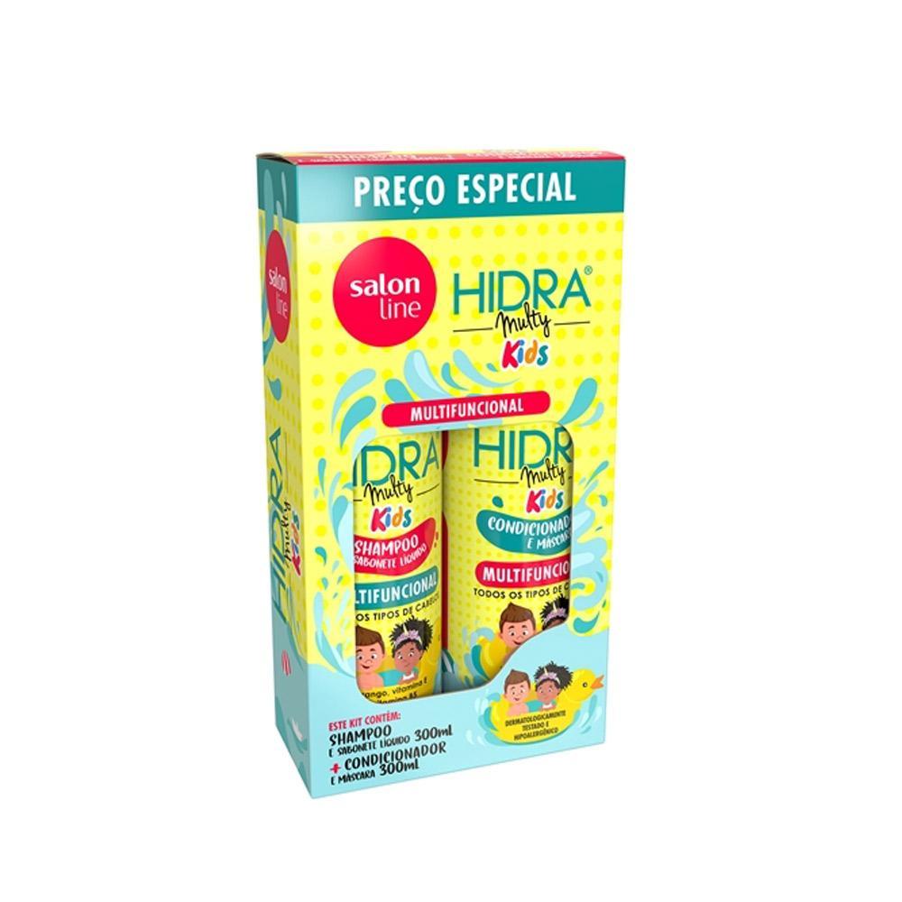 Salon Line Hidra Kids Kit - Shampoo + Condicionador