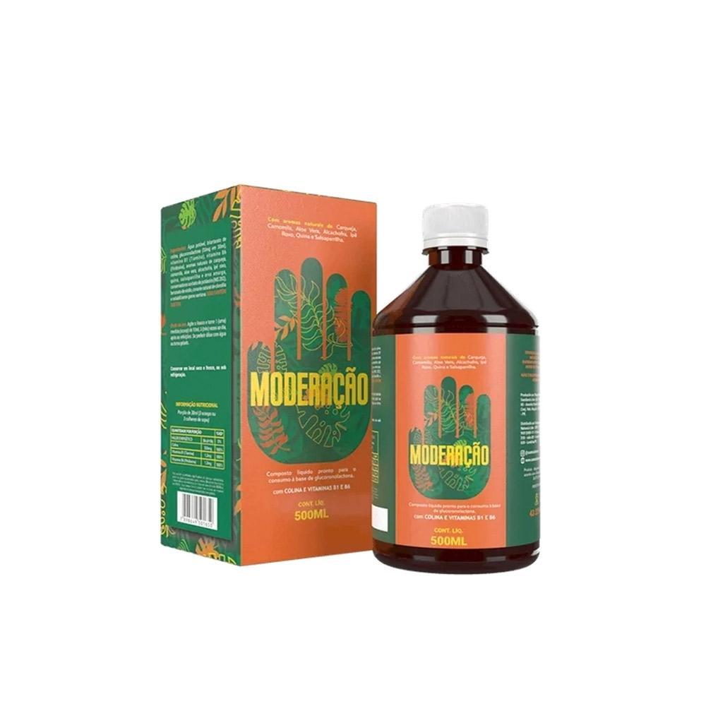Detox Moderação-digestivo 100% Natural-imunidade-500ml
