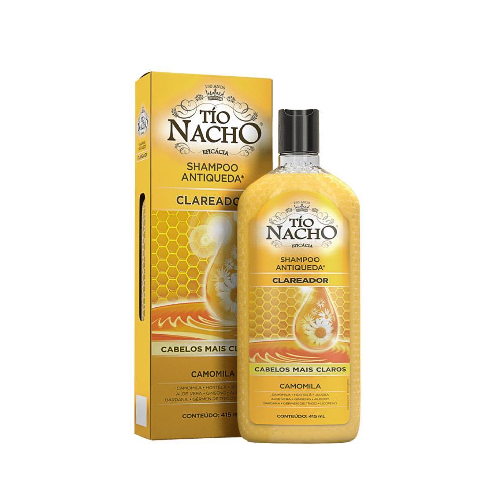 Tio Nacho Shampoo Antiqueda Clareador – Shampoo - 415ml