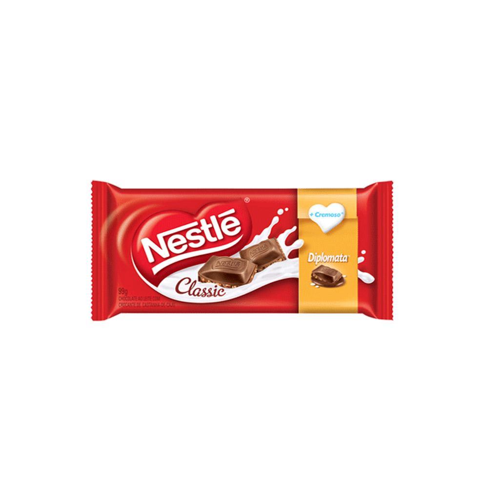 Barra de Chocolate Diplomata Nestlé 90g