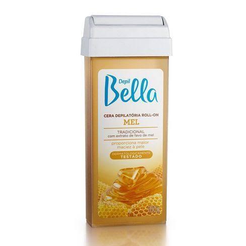 Cera Depilatória Depil Bella Roll-on Mel - 100g