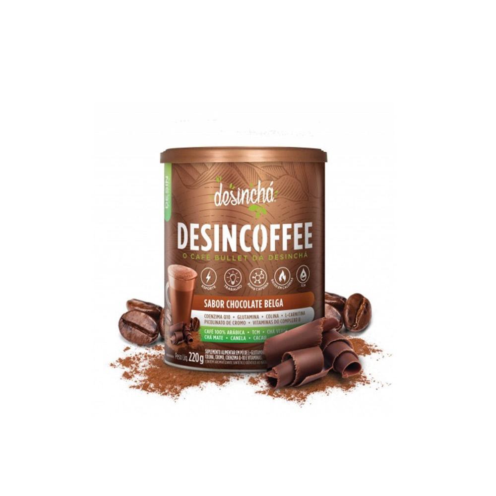 Desincoffee Sabor Chocolate Belga Termogenico 220g