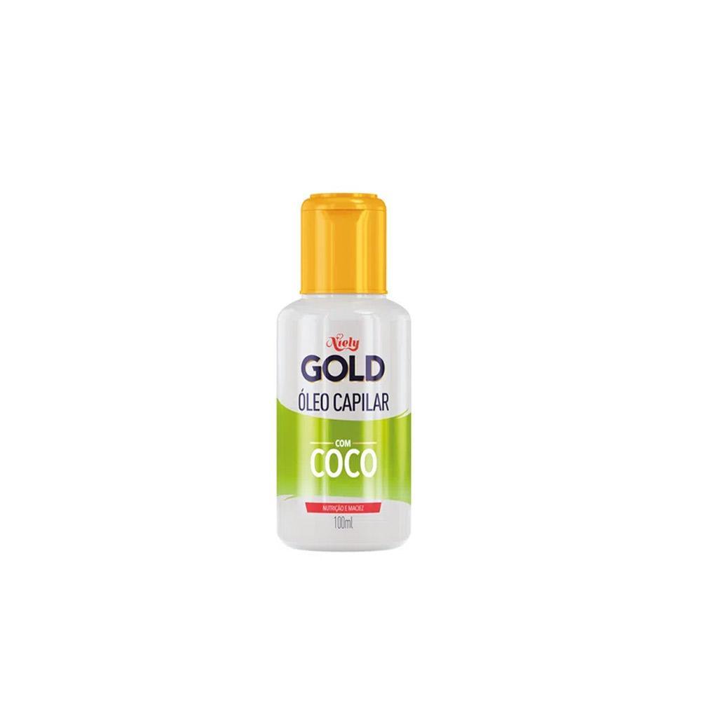 Óleo Capilar Niely Gold Hidratação Milagrosa Água de Coco - 100ml