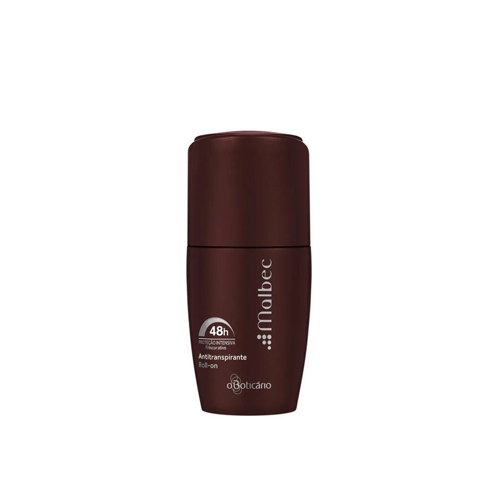 Desodorante Boticário Antitranspirante Roll-on Malbec 55ml