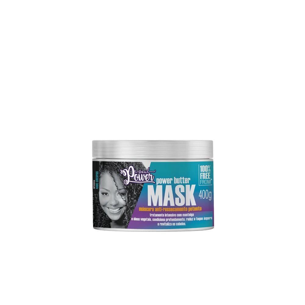 Máscara Anti-Ressecamento Soul Power Butter Mask - 400g