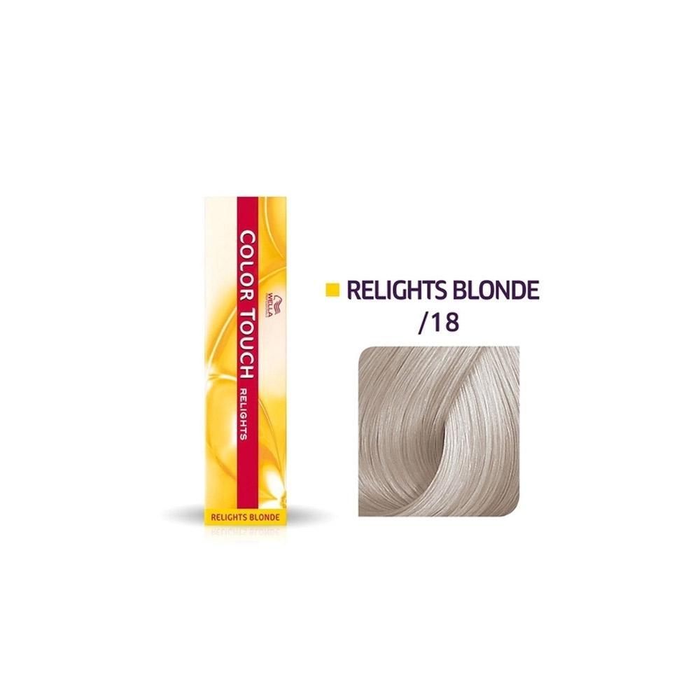Tonalizante Color Touch Relights /18 Cinza Perolado - 60g