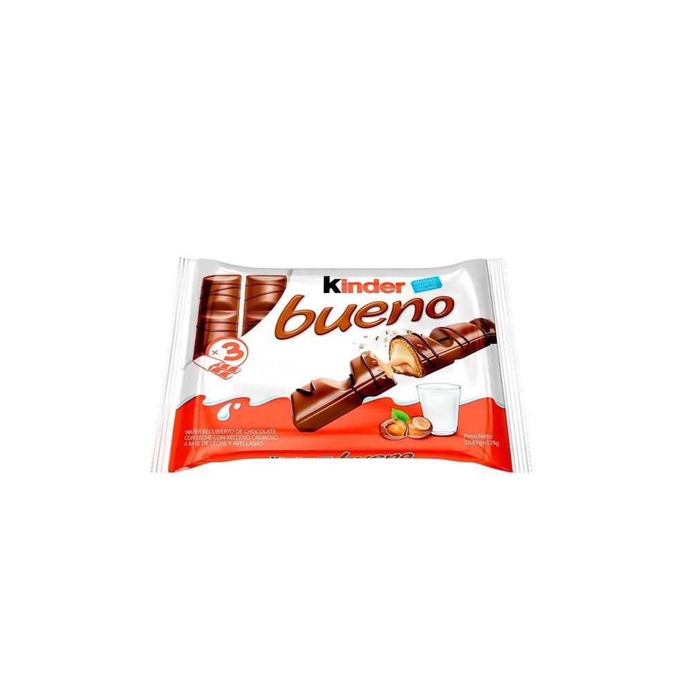 Chocolate Kinder Bueno c/3