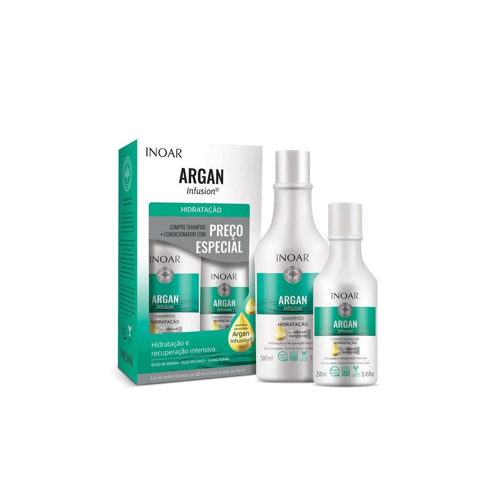 Kit Inoar Argan Infusion  Hidratação