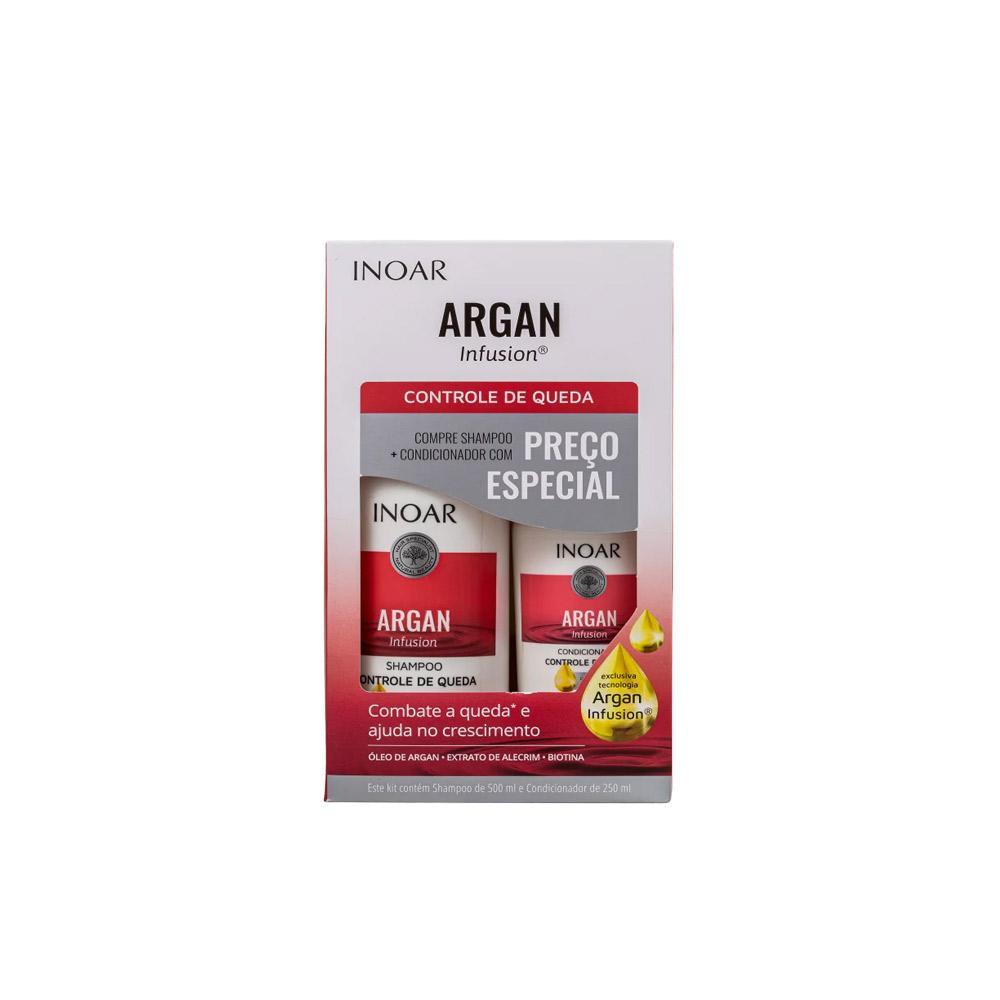 Kit Inoar Argan Infusion Controle de Queda