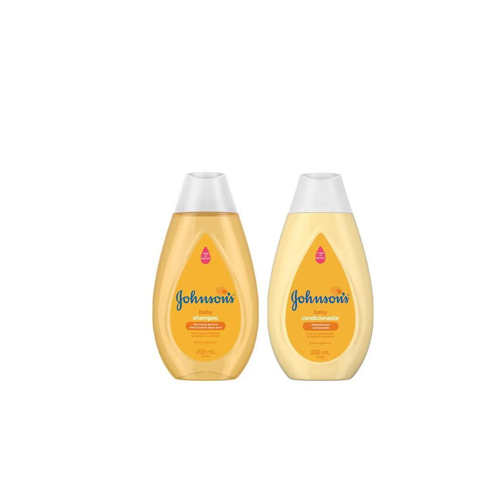 Kit Shampoo e Condicionador Jhonson's Baby