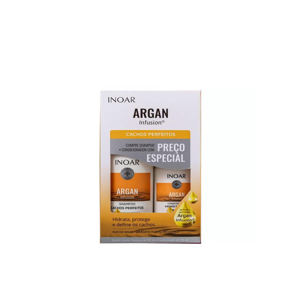 Kit Inoar Argan Cachos Perfeitos - 250x2
