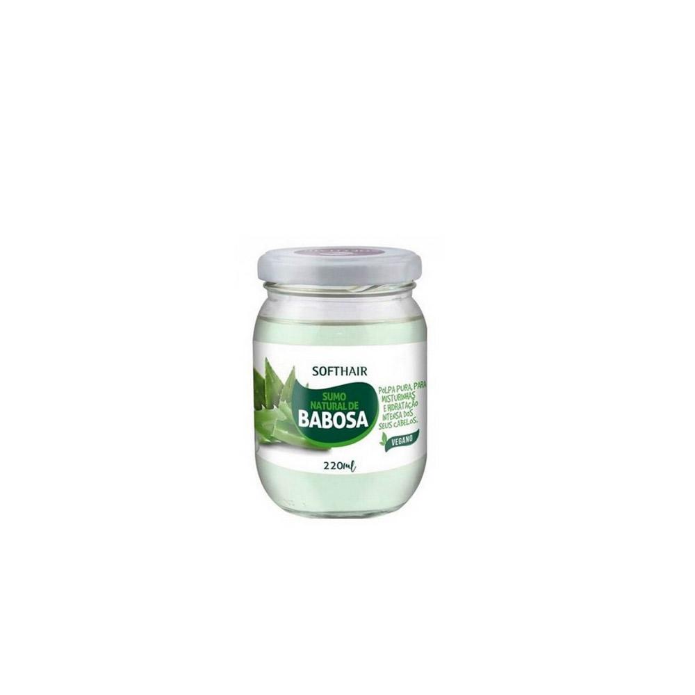 Sumo Natural De Babosa Vegano Softhair - 220 G