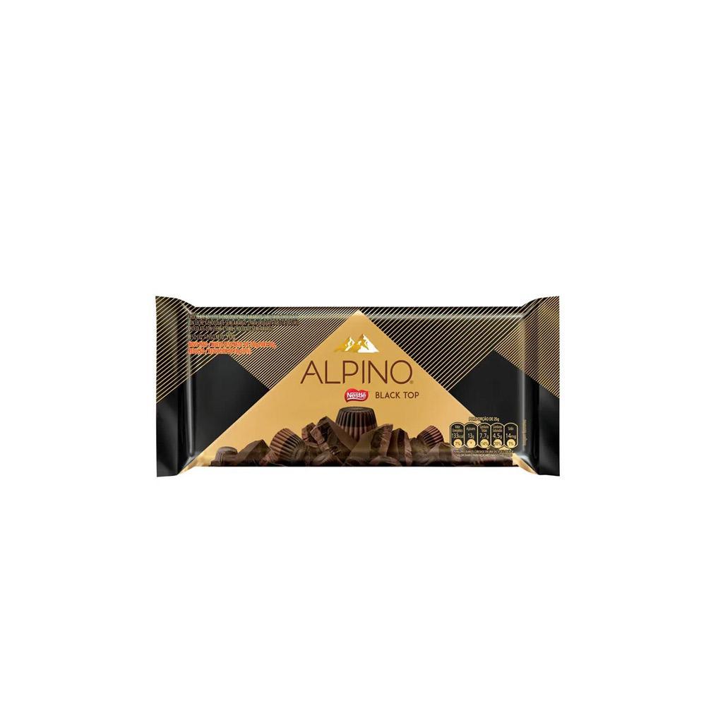 Chocolate Alpino Black - 90g