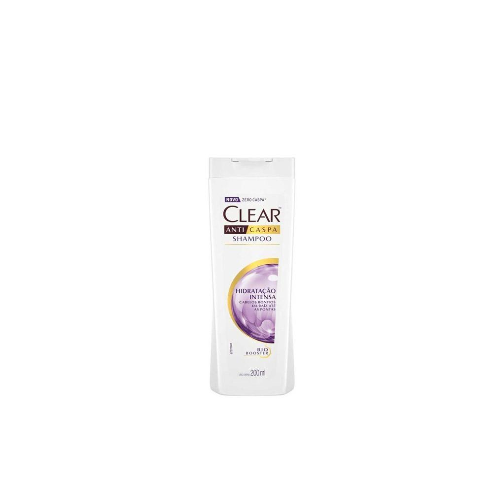 Shampoo Anticaspa Clear Hidratação Intensa - 200ml