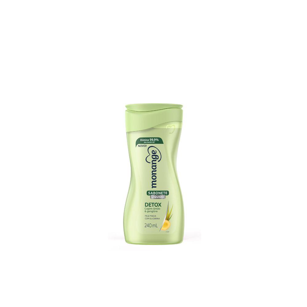 Sabonete Líquido Monange Detox - 240ml