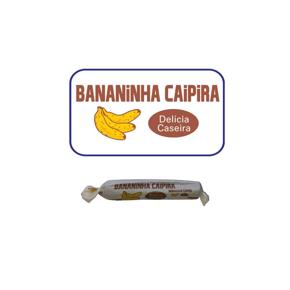 Doce De Bananinha Caipira