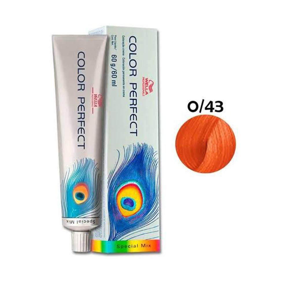 Tonalizante Color Perfect Wella Special Mix Vermelho Dourado 0.43 60 ml